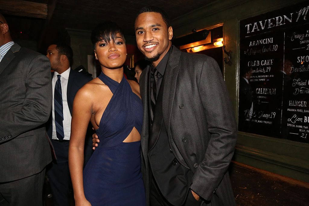 Trey Songz and Keke Palmer