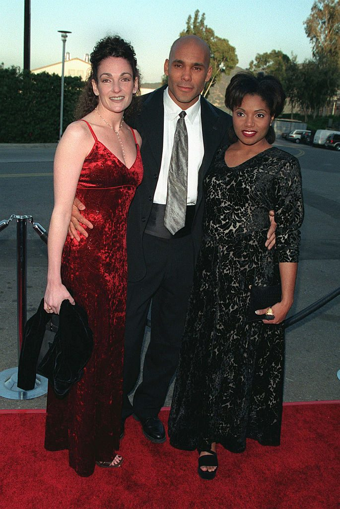 Réal Andrews with Vanita Harbour and Michelle Viscuso in 1999 at the 15th Soap Opera Digest Awards   Frank Trapper