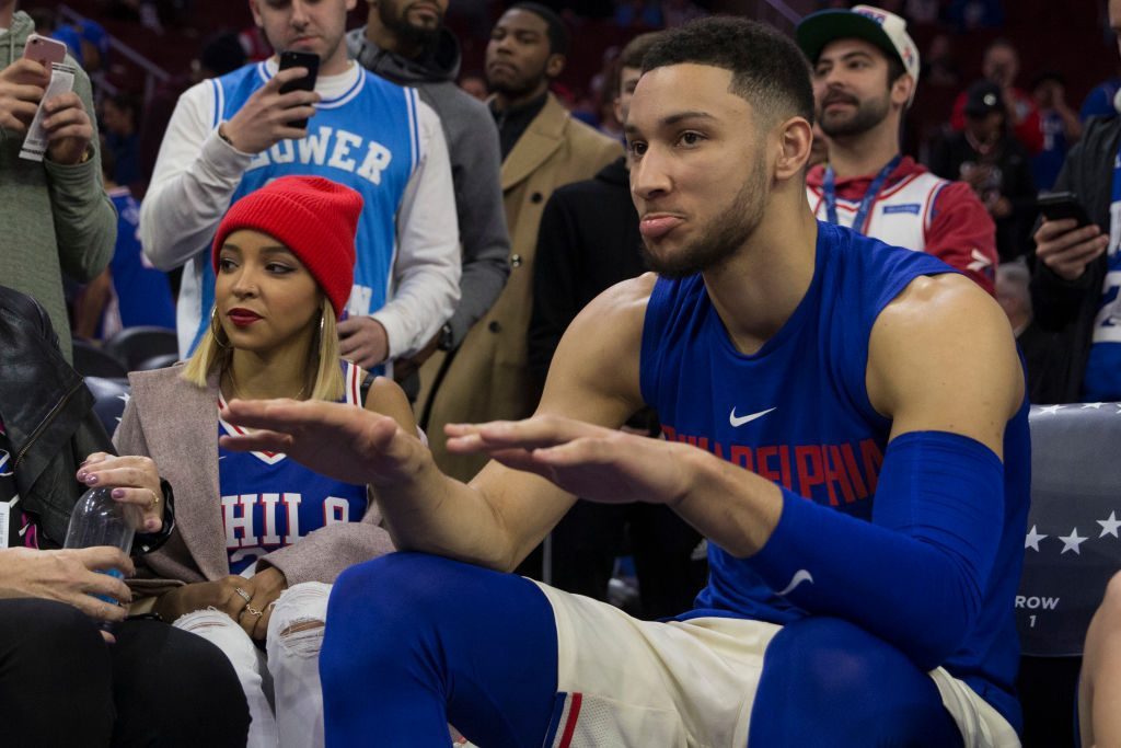 Tinashe and Ben Simmons