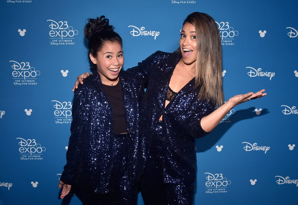 Tess Romero and Gina Rodriguez of 'Diary of a Future President'