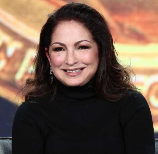 Gloria Estefan at the 2019 Winter Television Critics Association Press Tour on Feb. 1, 2019