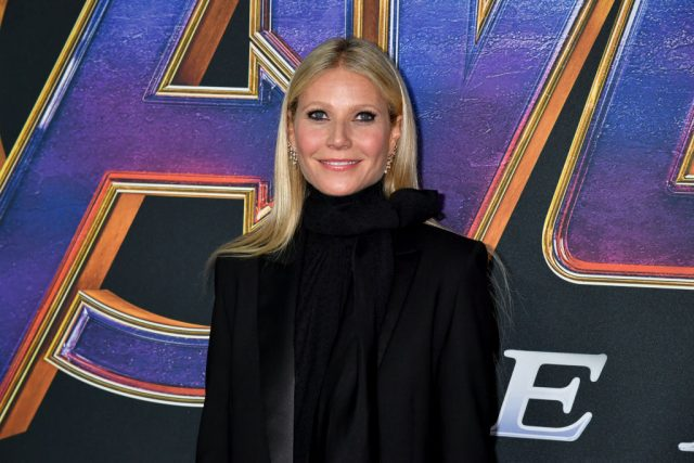 Gwyneth Paltrow at the world premiere of 'Avengers: Endgame'