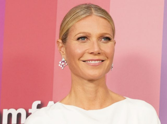 Gwyneth Paltrow attends the 2019 amfAR Gala on Oct. 10, 2019