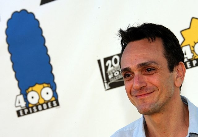 Hank Azaria at The Simpsons 400th Episode Block Party