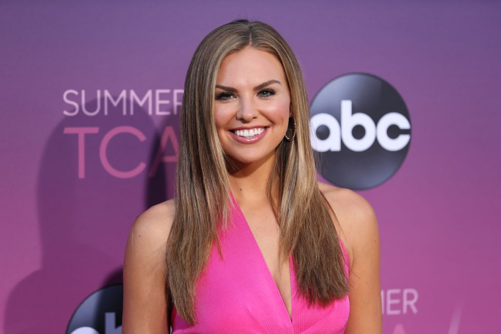 Hannah Brown attends ABC's TCA Summer Press Tour Carpet Event on August 05, 2019 in West Hollywood, California.
