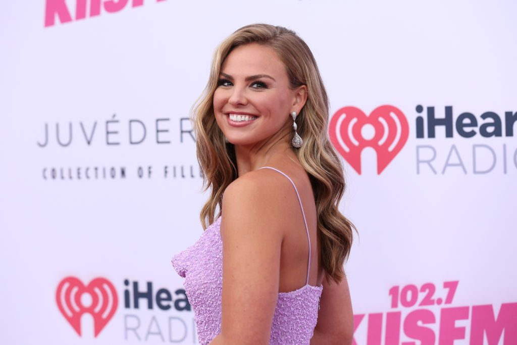 Hannah Brown attends 2019 iHeartRadio Wango Tango at The Dignity Health Sports Park on June 01, 2019 in Carson, California.