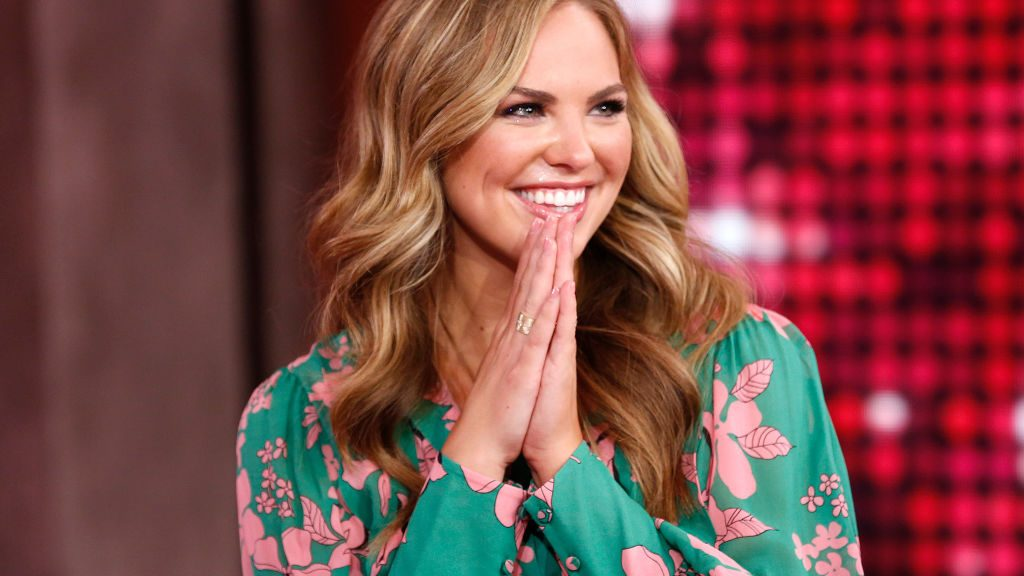 """Hannah Brown of """"The Bachelorette"""" is a guest on """"Good Morning America,"""" Wednesday, July 31, 2019 on the Walt Disney Television Network. GMA19"""
