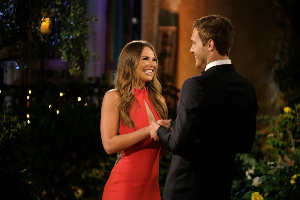 Hannah Brown and The Bachelor Peter Weber