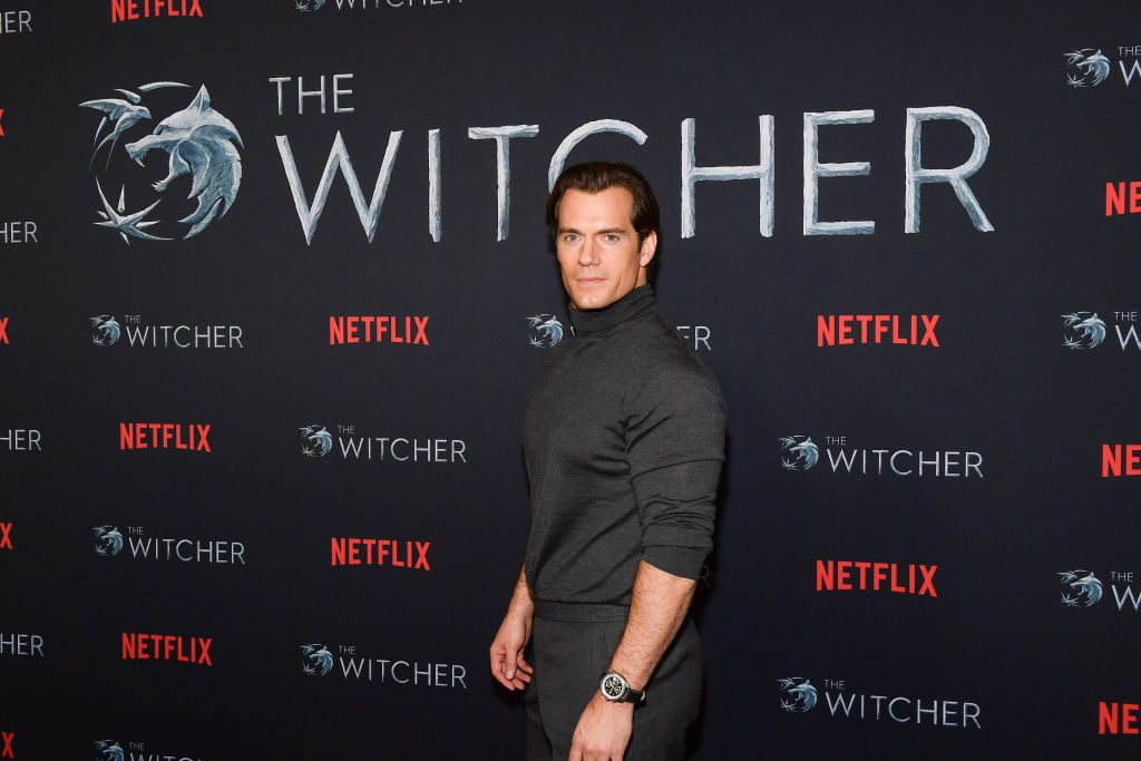 Henry Cavill of The Witcher
