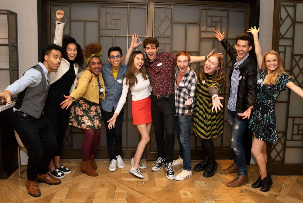 Cast of 'High School Musical: The Musical: The Series'