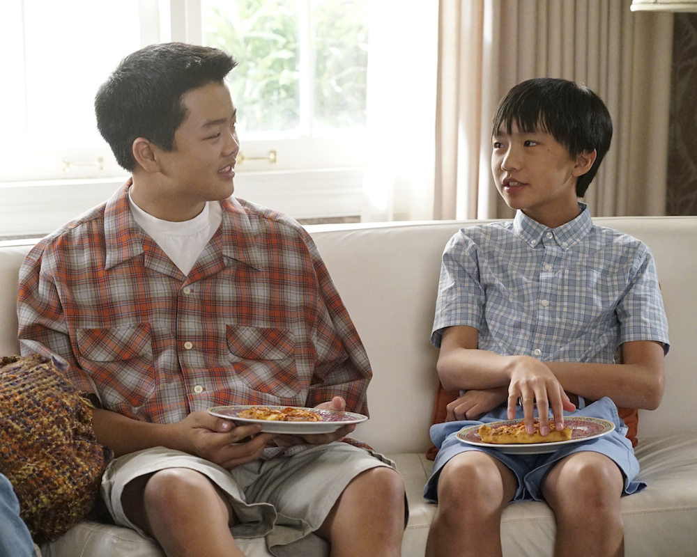 Hudson Yang and Ian Chen