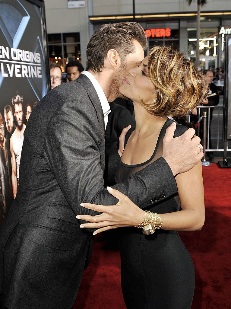 Hugh Jackman and Halle Berry former Wolverine and Storm