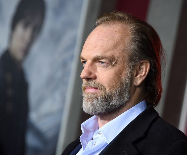 Hugo Weaving at the premiere of 'Mortal Engines'