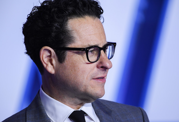 JJ Abrams on the red carpet