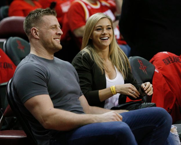 JJ Watt Kealia Ohai Houston Texans