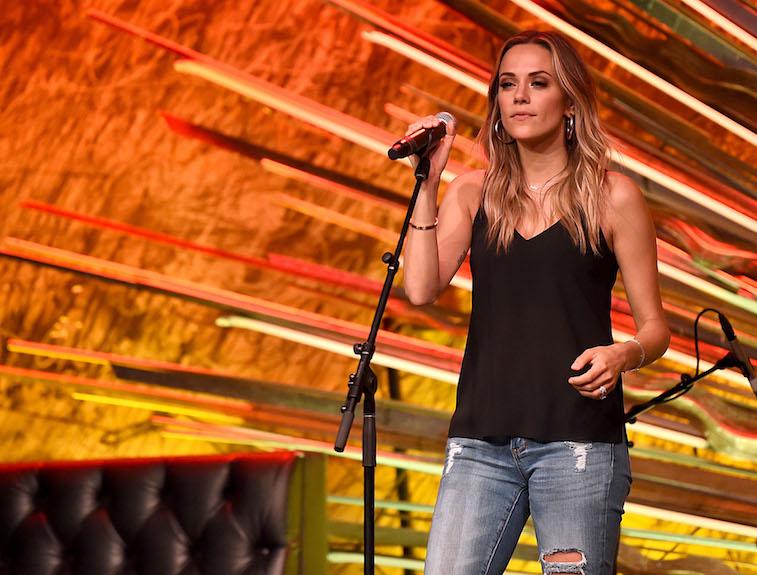 Jana Kramer performs onstage
