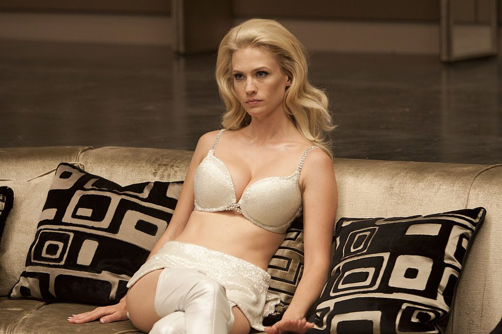 January Jones in X-Men: First Class   Murray Close/Getty Images