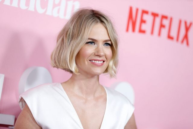 January Jones attends the premiere of 'The Politician' on Sept. 26, 2019