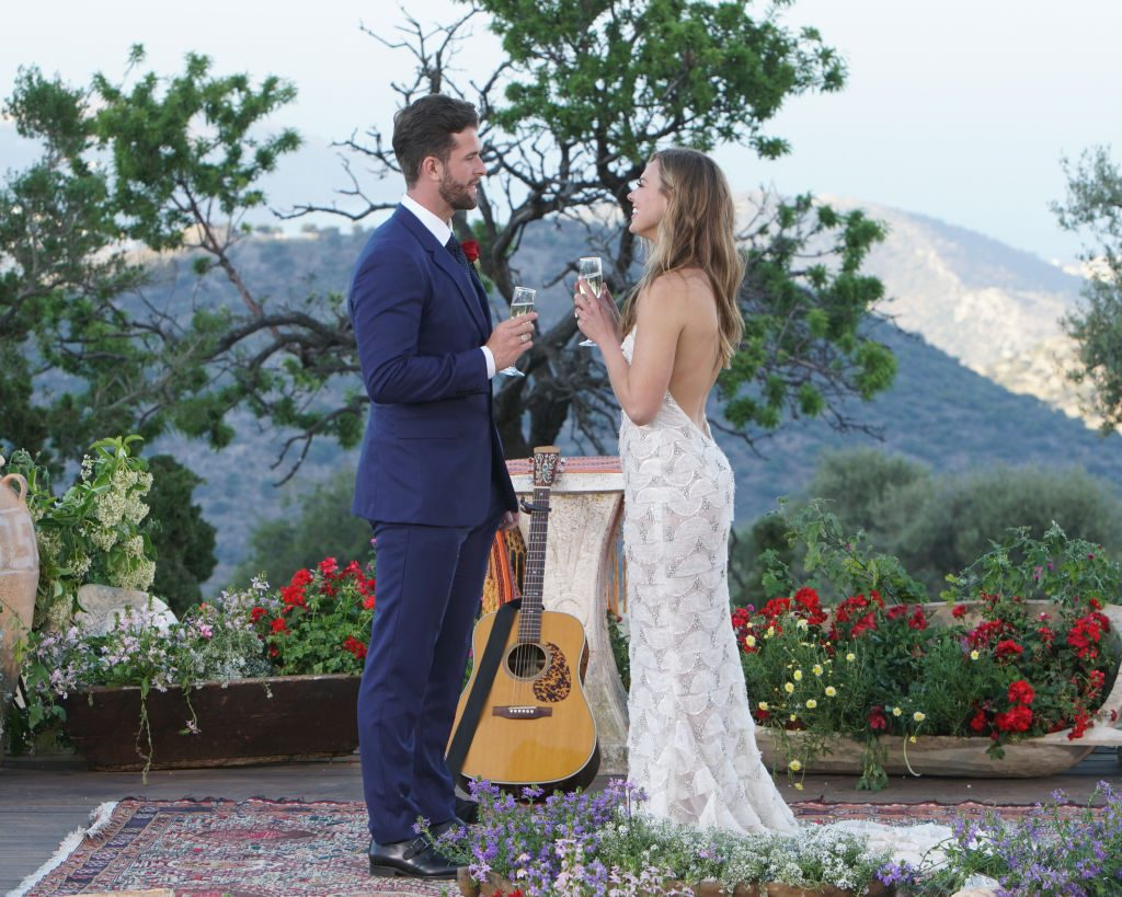 Jed Wyatt with Hannah Brown on 'The Bachelorette'