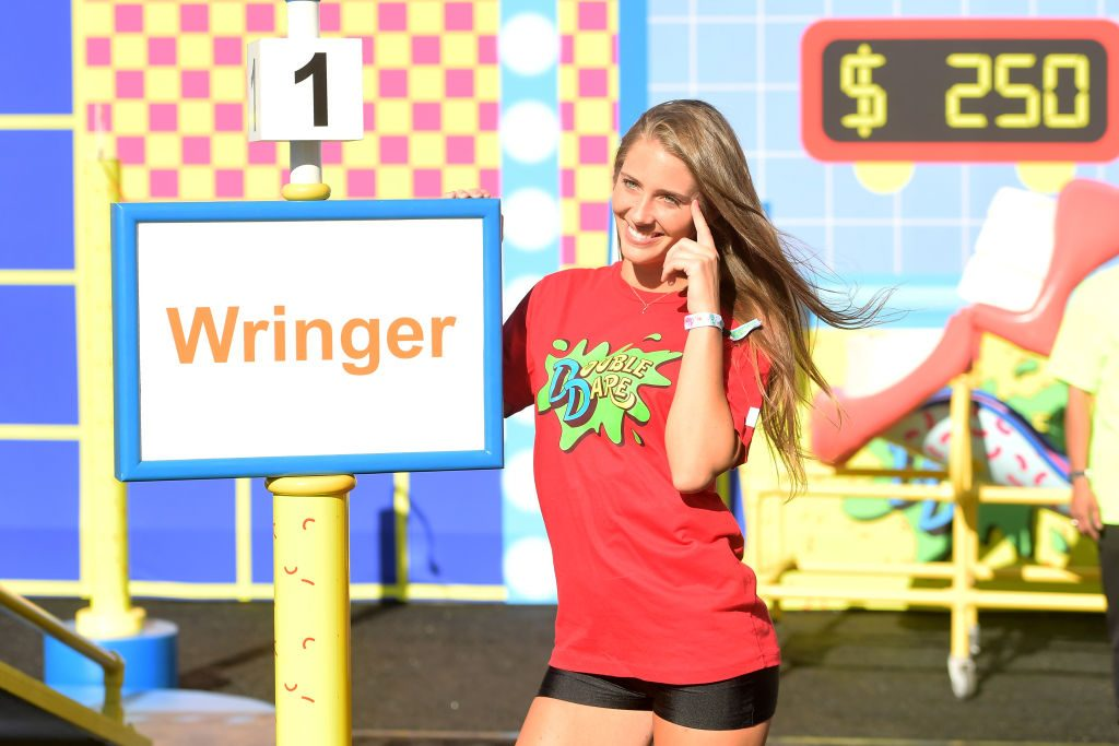 Jenna Compono attends 'Double Dare' presented by Mtn Dew Kickstart at Comedy Central