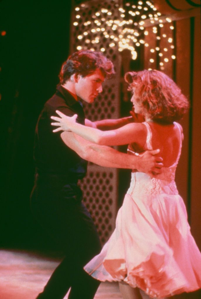 Jennifer Grey and Patrick Swayze of Dirty Dancing