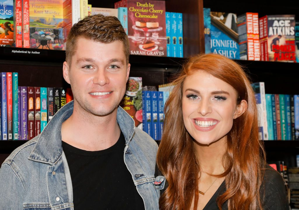 Jeremy Roloff and Audrey Roloff celebrate their new book, 'A Love Letter Life,' at Barnes & Noble