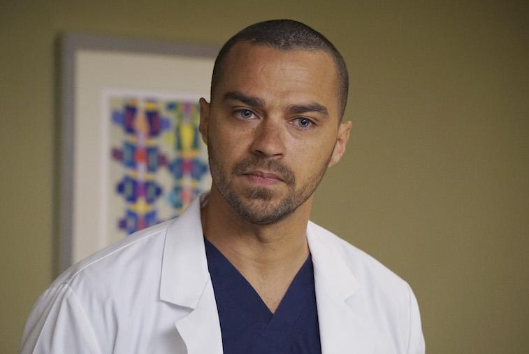 Jesse Williams as Jackson on 'Grey's Anatomy'