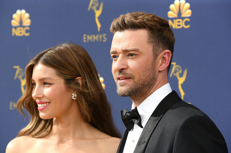 Jessica Biel, Justin Timberlake on the red carpet