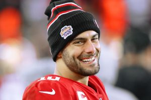There Is Probably One Person Who Isn't Happy to See Jimmy Garoppolo in the Super Bowl