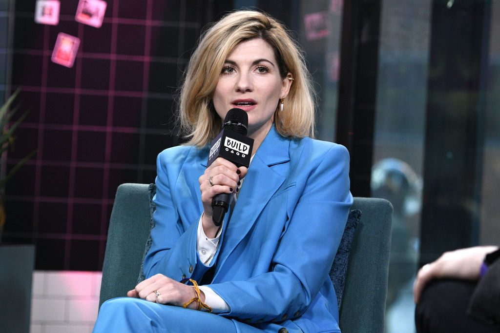 Jodie Whittaker of Doctor Who: Orphan 55.