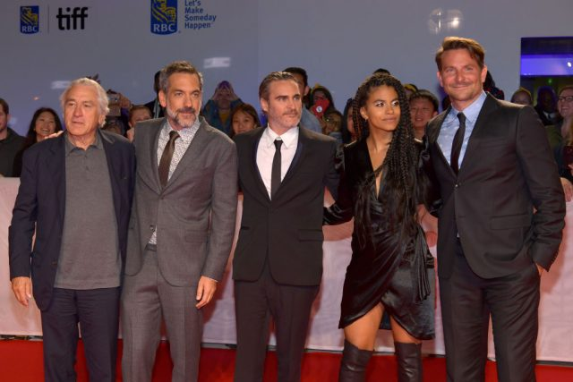 Director Todd Phillips and the cast of 'Joker'