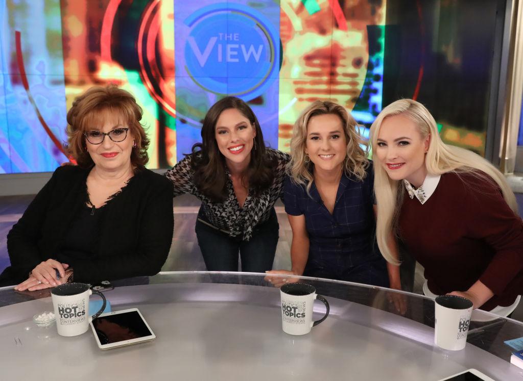 Joy Behar, Abby Huntsman, Charlotte Pence, and Meghan McCain