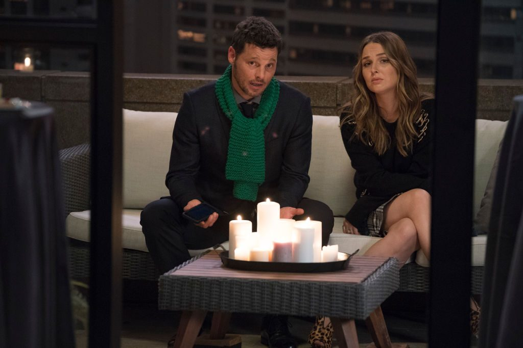 Justin Chambers and Camilla Luddington as Alex and Jo on 'Grey's Anatomy'  - Season Fifteen