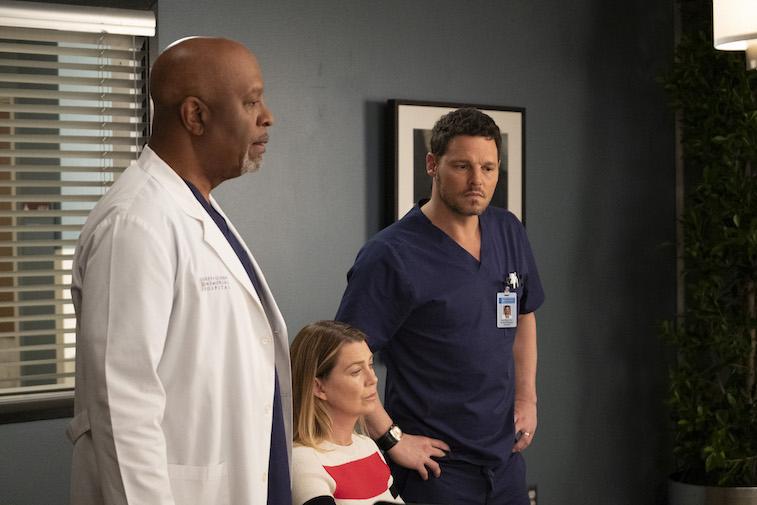The cast of Grey's Anatomy
