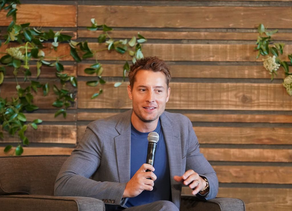 Justin Hartley (Kevin) at the 'This Is Us' Pancakes with the Pearsons panel