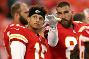 Are Kansas City Chiefs Superstars Patrick Mahomes and Travis Kelce Friends Off the Football Field?