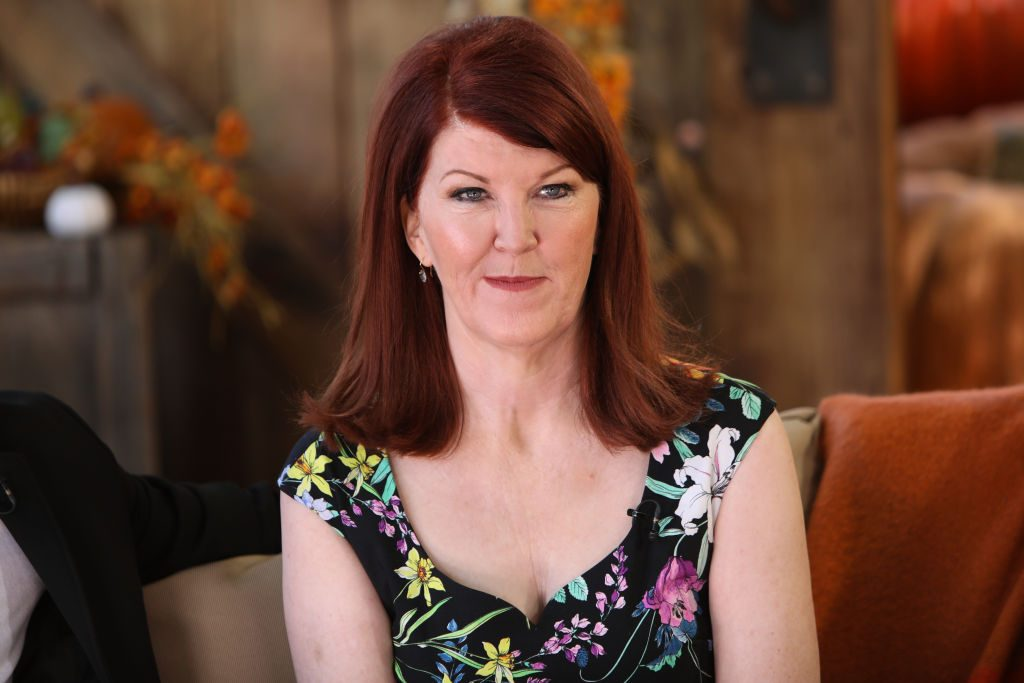 Kate Flannery making an appearance on 'Home & Family'