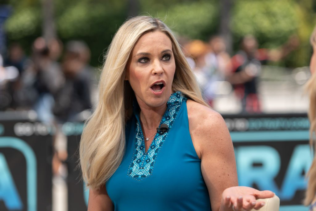 Kate Gosselin visits 'Extra' at Universal Studios Hollywood on June 12, 2019