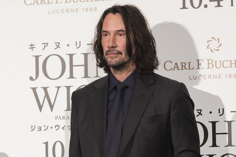Keanu Reeves on the red carpet