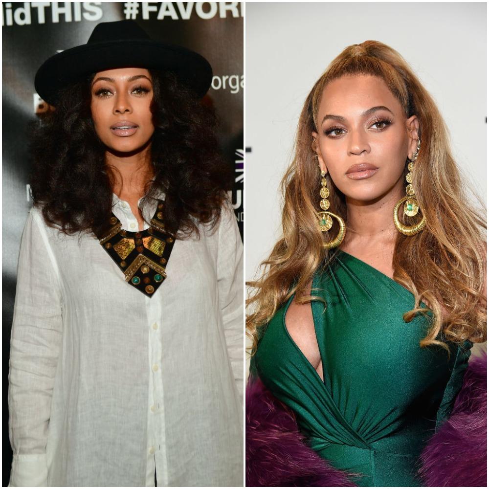 Keri Hilson and Beyoncé