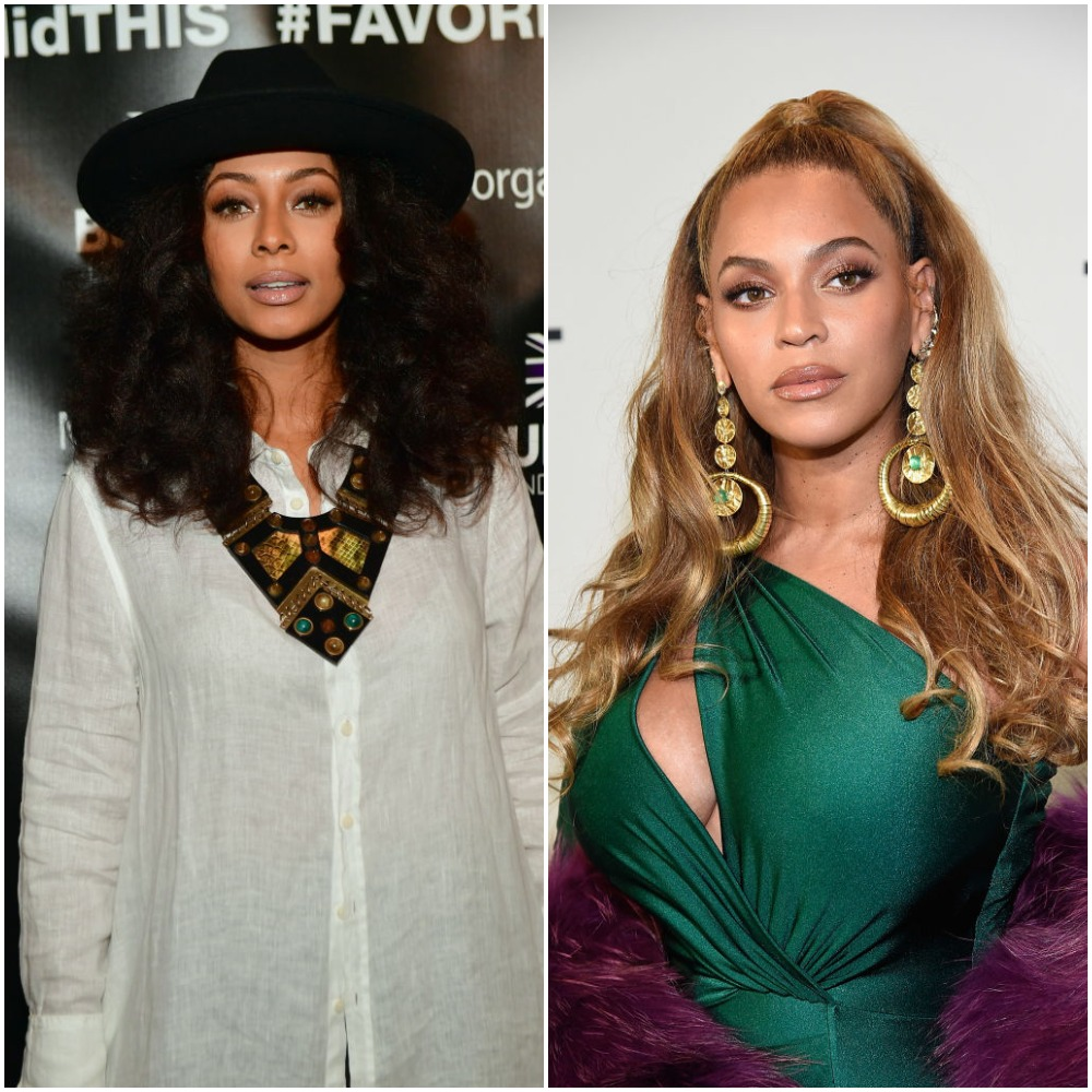Keri Hilson and Beyoncé