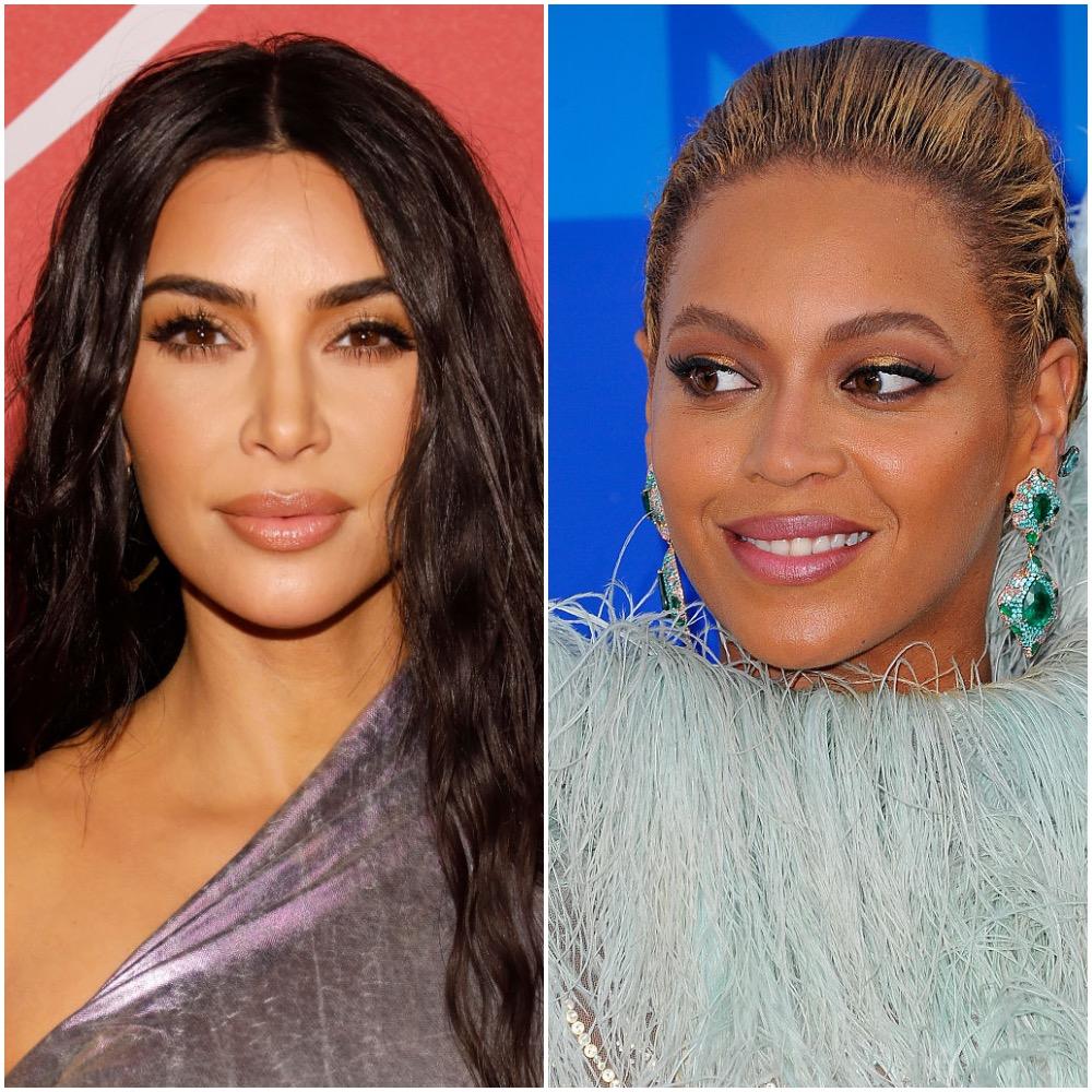 Kim Kardashian West and Beyoncé