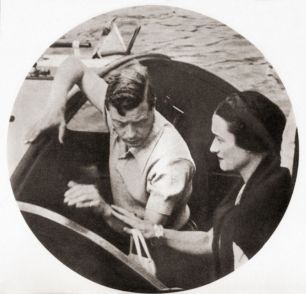 King Edward VIII and Wallis Simpson on a shore excursion during their Mediterranean cruise