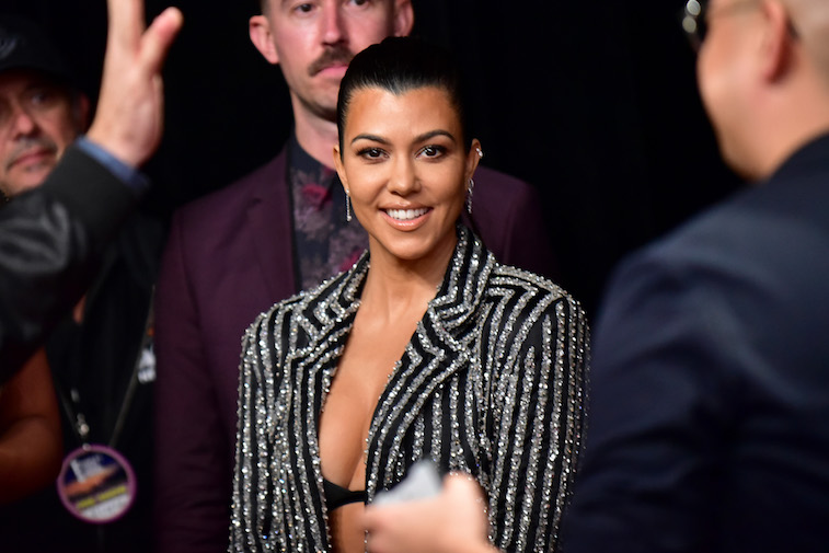 Kourtney Kardashian on the red carpet