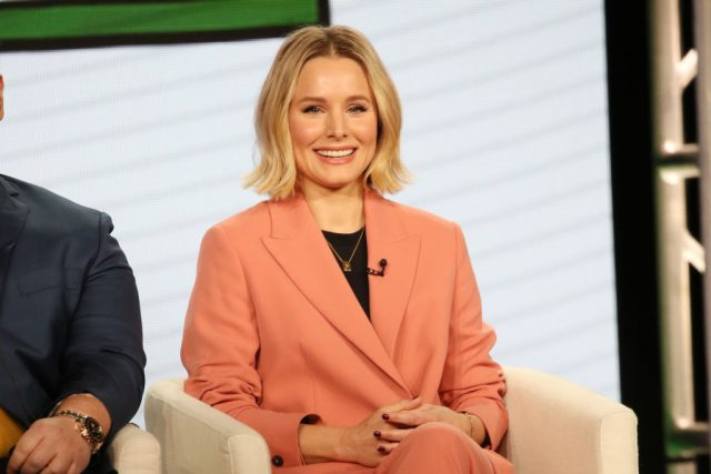 Kristen Bell speaks onstage during 2020 Winter TCA Tour on Jan. 19, 2020