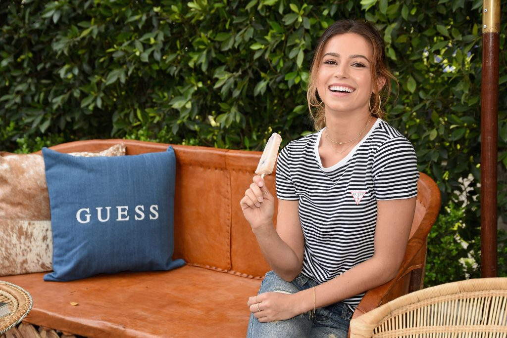 Kristina Schulman attends GUESS Festival Prep Event at Lombardi House