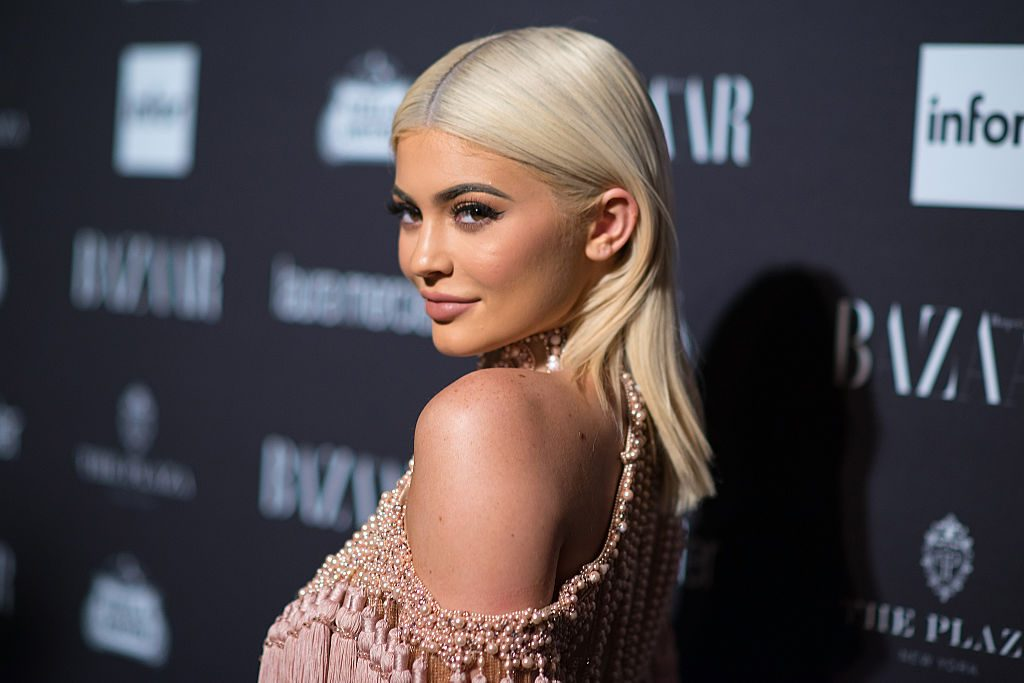 Kylie Jenner on the red carpet in 2016