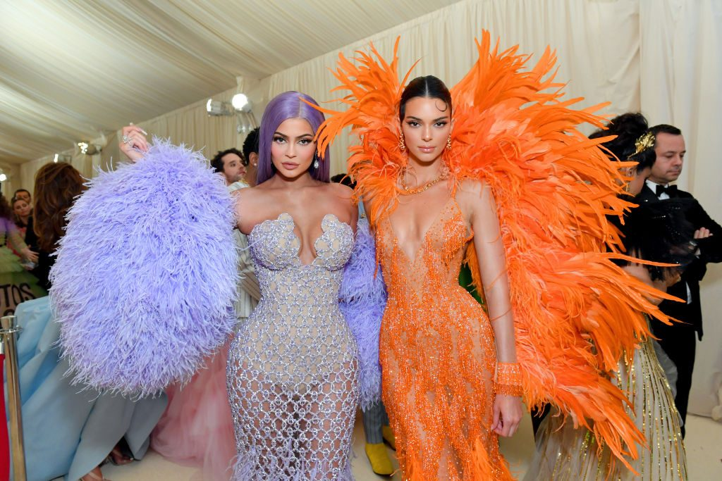 Kylie Jenner and Kendall Jenner attend The 2019 Met Gala Celebrating Camp: Notes on Fashion at Metropolitan Museum of Art