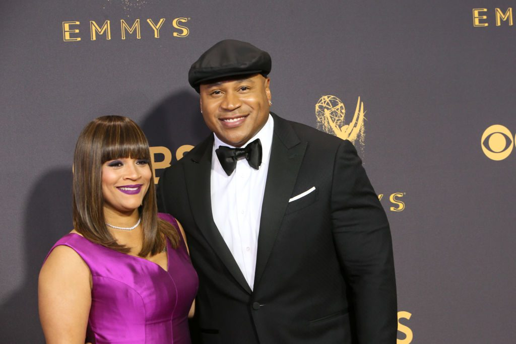 LL Cool J and wife Simone Smith.    David Livingston/Getty Images