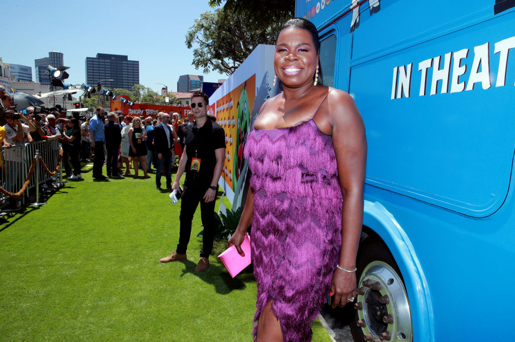 "Leslie Jones attends the Premiere of Sony's ""The Angry Birds Movie 2"""